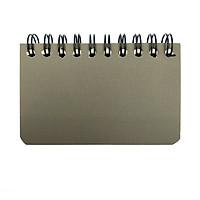 Sổ Học Từ Vựng Lò Xo Bium Mini 82688 - Nâu Đậm