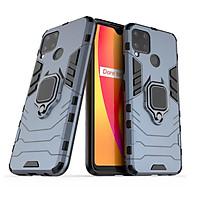 Ốp lưng dành cho Realme C15 iron man chống sốc kèm iring