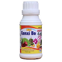 02 chai Phân vi lượng CANXI BO cho cây trái - hoa màu - hoa kiểng chống hư rễ quăn lá rụng trái và nứt trái