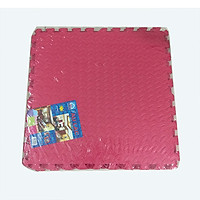 Bộ 9 tấm thảm xốp ghép, màu đỏ, chống trượt, kích thước 1 tấm 42cm x 42cm( hàng Việt Nam)