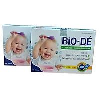 Combo 02 Hộp BIO-DÉ, Siro ăn ngon cho bé từ thảo dược, hỗ trợ cho trẻ biếng ăn, giúp cải thiện tận gốc khả năng ăn uống ở trẻ, dành cho trẻ hay ốm, Siro giúp bổ máu, tăng cường sức để kháng, bé ăn ngon hơn, tiêu hóa khỏe, giúp tăng cân cho bé
