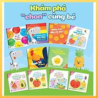 Sách Ehon- Song Ngữ Việt Anh Cho Bé Từ 0-6 Tuổi Bộ 10 Cuốn- Ehon Nhật Bản Nuôi Dưỡng Tâm Hồn Bé