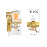 Bộ serum dưỡng da mặt và vùng mắt Balance Gold Collagen