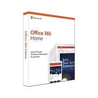 Phần Mềm Microsoft Office 365 Home English APAC - 1 Năm - Hàng chính hãng