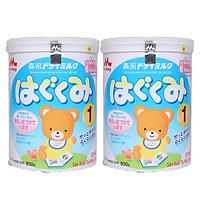 Hai hộp sữa Morinaga số 1 dinh dưỡng dành cho bé 850g