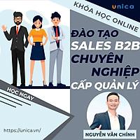 Khóa học SALE BÁN HÀNG- Đào tạo Sale B2B chuyên nghiệp dành cho cấp quản lý đội nhóm kinh doanh