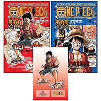 Combo 2 Cuốn: One Piece 500 Quiz Book (Tập 1 + Tập 2)(Tặng Kèm: Standee PVC Luffy)
