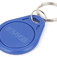 ( 10 Móc khóa ) Móc khóa RFID 125Khz, Móc khóa RFID Proximity, Móc khóa tần số LF, Móc khóa Chip 125Khz