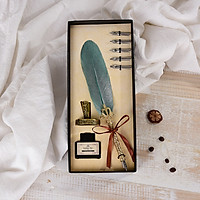 Bút Lông Vũ Vintage Quill Pen Nhúng Mực