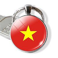 Móc khóa cờ đỏ sao vàng Tôi yêu Việt Nam