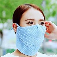 Khẩu trang chống nắng, chống tia UV #003710 Nhật Bản