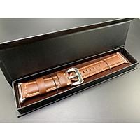 Dây đeo da bò ROPS (Qialino) top layer leather strap cho Apple watch - Hàng chính hãng