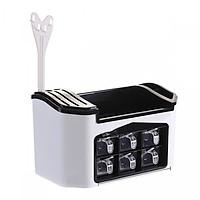 Kệ nhà bếp thông minh 6 ngăn đựng gia vị ( Giao Màu Ngẫu Nhiên )