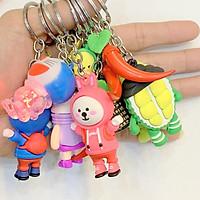 Móc treo chìa khóa, treo điện thoại vỏ ốp lưng các loại hình ngộ nghĩnh đáng yêu, giao hàng ngẫu nhiên