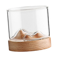 Whiskey Glasses , Wine Glasses, Clear Whisky Tumblers, Unique Liquor Glass with