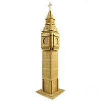 Bộ xếp hình 3D bằng gỗ sáng tạo ĐỒNG HỒ BIGBEN ALCC