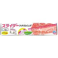 Túi zip đựng thực phẩm Daiwa size L đáy rộng (6 cái)