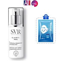 Kem làm mờ đốm nâu và trắng da SVR clairial peel 30ml TẶNG mặt nạ Sexylook (Nhập khẩu)