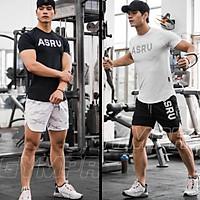 Bộ quần Áo Gym Nam Thun Lạnh Co Giãn 4 Chiều Thấm Hút Mồ Hôi,Đồ Tập Gym Nam Chất