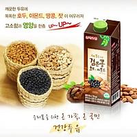 Thùng 12 Hộp Sữa Đậu Đen, Óc Chó, Hạnh Nhân Sahmyook Foods (950ml/Hộp)