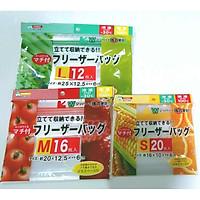 Combo 03 Set túi Zip bảo quản thực phẩm - Nội địa Nhật Bản