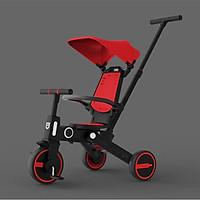 Xe  đẩy 3 bánh hai chiều kiêm xe chòi chân cho bé gấp gọn, dành cho bé từ 1 - 5 tuổi Trọng tải 40kg, siêu nhẹ 6kg