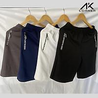 Combo 4 quần đùi nam thể thao Sport ngắn vải Thun Poly 2 Da thoáng mát, chất liệu hút ẩm, độ co giãn tốt