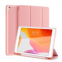 Bao da chống sốc kèm khay đựng bút cho Apple iPad Gen 7 10.2 inch thương hiệu DUX DUCIS Domo Series cao cấp - Hàng nhập khẩu.
