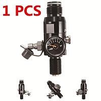 Type A/Type B/Type C:5000 PSI Mini Micro Paintball Air CO2 Tank PressureMicro Gauge 1'' 5000 psi High Pressure