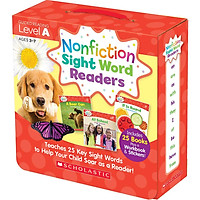Nonfiction Sight Word Readers: Guided Reading Level A (Parent Pack)