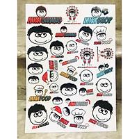 Set 60 Sticker Hình Độ Mixi