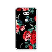 Ốp lưng dẻo cho điện thoại LG V30 - 0213 ROSE - Hàng Chính Hãng