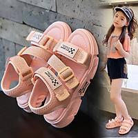 Sandal bé gái 3 quai thời trang - Dép quai hậu đi học thể thao và phong cách cho bé 3 - 12 tuổi SG54