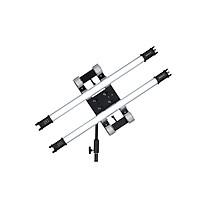 Đèn ống NANLite Pavotube 15C 2KIT, nguốn ánh sáng mềm, thiết kế thon gọn, đẹp mắt, thích hợp cho quay phim chụp hình - Hàng chính hãng