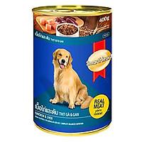 Đồ Ăn Cho Chó Vị Thịt Gà Và Gan SmartHeart (Hộp 400g)