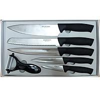 Bộ dao nhà bếp 6 món bằng thép không gỉ