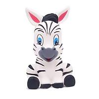 Squishy ngựa vằn, squishy chậm tăng mùi thơm dịu nhẹ, đồ chơi cho bé trai và bé gái