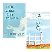 Combo 2 cuốn: Thiền Trong Từng Phút Giây + Thiền Chữa Lành Thân Và Tâm