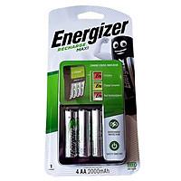 Bộ sạc Energizer Charger kèm 4 pin Ener AA 2000mAh, tự ngắt sạc (CHVCM4) ( Mẫu mới)