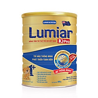 Sữa bột Lumiar IQ Pro 1+ 900g - Dinh dưỡng chuyên biệt giúp trí não thông minh, phát triển toàn diện