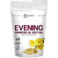 Evening Primrose Oil 1300mg, 300 Liquid Softgels, Helping Maintain Healthy Skin, Prostaglandin Levels and Balance Immune Response, No GMOs and Vegan Friendly