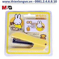 Bộ bấm kim số 10 + hộp kim M&G  - 91626 màu vàng