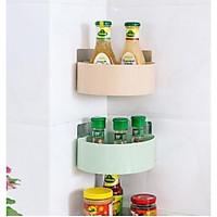Kệ góc nhà tắm nhà bếp chất liêu nhựa cao cấp tiện ích