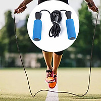 Student Physical Fitness Test Bearing Skipping Rope Sponge Handle Weight Loss