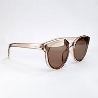 Mắt kính nữ thời trang DKY337TR form mắt mèo màu nâu trà. Tròng Polarized phân cực, chống tia UV.