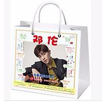 Túi quà Đặng Luân 17 món có poster postcard bookmark banner huy hiệu thiếp ảnh dán album ảnh tặng ảnh thiết kế vcone