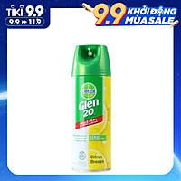 Bình xịt diệt vi khuẩn, virus Dettol Glen 20 Surface Spray Citrus Breeze (300g)