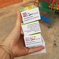 Bột Cắm Hoa Lily Tươi Lâu, Hiệu Longlife nhập khẩu Isarel (Bộ 30 gói)