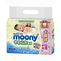 Set 640 tờ giấy ướt Moony nội địa Nhật Bản