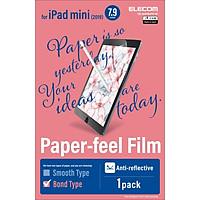 Miếng dán màn hình iPad mini 2019 ELECOM TB-A19PB079-W - Loại nhám - Hàng chính hãng